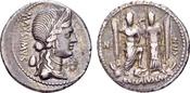 Römische Republik. C. Egnatius Maxsumus...