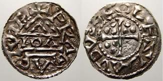 Böhmen Denar 929-967 n. Chr. Äußerst selte...