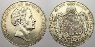 Doppeltaler 1840  A Brandenburg-Preußen Fr...