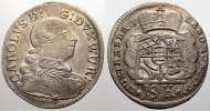 15 Kreuzer 1759 Württemberg Karl Eugen 1744-1793. Winz. Schrötlingsfehl... 110,00 EUR  +  5,00 EUR shipping