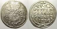 5 Kreuzer 1736 Württemberg Carl Alexander 1733-1737. Prägefrisch  125,00 EUR  +  5,00 EUR shipping