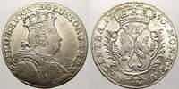 6 Kreuzer 1756  B Brandenburg-Preußen Friedrich II. 1740-1786. Winziger... 225,00 EUR  +  5,00 EUR shipping