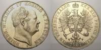 Taler (Sterbetaler) 1861  A Brandenburg-Pr...