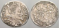 3 Gröscher 1 1597 Polen Sigismund III. 158...