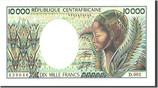 10,000 Francs 1983 Zentralafrikanische Rep...