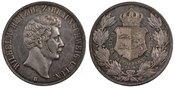 2 Thaler, 3 1/2 Gulden 1856 Hannover Deuts...