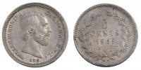 Netherlands 5 Cents 1859 unz- Foreign Coin...