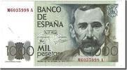 Spain 1000 Pesetas Foreign Banknoten Spain, 1000 Pesetas type Galdos