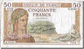 Banque De France 50 Francs French Banknoten Frankreich 50 Francs type Crs