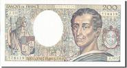 Banque De France  200 Francs French Banknoten Frankreich 200 Francs type Montesquieu