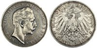 Germany 3 Mark Foreign Coins Münzen Germany, Prussia, Wilhelm II, 3 Mark, Deutschland ab 1871