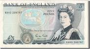 Great Britain 5 Pounds Foreign Banknoten Great Britain, 5 Livres type Elizabeth II