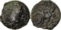 Gallic Bronze Antike Gallic Kelten Senons, Region of Sens, Bronze with bird