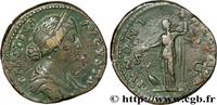 THE ANTONINES (96 AD to 192 AD) Sesterce FAUSTINA DAUGHTER 156-161 (31mm, 20,53g, 6h )