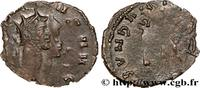 THE MILITARY CRISIS(235 AD to 284 AD) Antoninien GALLIENUS 265-266 (19mm, 2,49g, h )