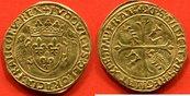 1507 LOUIS XII LOUIS XII 1498-1514 ECU D'OR AU PORC-EPIC A/ LVDOVICVS DEI GRACIA FRANCORV REX E ss