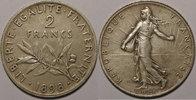 1898 2 Francs France, Semeuse Flan Mat, 2 Francs 1898 SUP Gad: 532 vz  320,00 EUR free shipping