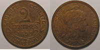 1899 2 Centimes France, Dupuis, 2 Centimes 1899 TTB+ cleaned, Gad: 107... 10,00 EUR  +  7,00 EUR shipping