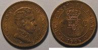 1906 Spain Espagne, Spain, 1 Centimo 1906  SL-V, SUP+, KM# 726 vz+  6,00 EUR  +  7,00 EUR shipping