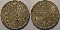 1916 Finland Finlande, Finland, 50 Penniä 1916 s, SUP/SUP+, KM # 2.2 v... 10,00 EUR  +  7,00 EUR shipping