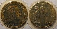 1982 Monaco Monaco, 10 Centimes 1982, FDC, Gad# 146 st  8,00 EUR  +  7,00 EUR shipping