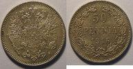 1916 Finland Finlande , Finland, 50 Penniä 1916 s, SUP/SUP+, KM# 2.2 v... 10,00 EUR  +  7,00 EUR shipping