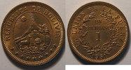 1951 H Bolivia Bolivie, 1 Boliviano 1951 H, SUP+/SPL, KM# 184 vz+  6,00 EUR  +  7,00 EUR shipping
