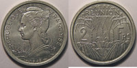 1948 Réunion Réunion , 2 Francs 1948 SPL, Lec: 62 vz+  7,00 EUR  +  7,00 EUR shipping