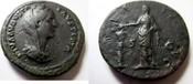 Sesterz nach 141 n. Rom Sesterz von Fausti...