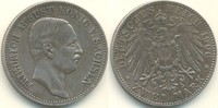 Deutschland - Kaiserreich 2 Mark Sachsen - Kursmünze, Friedrich August III.