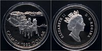 1 Dollar 1992 Kanada Postkutsche PP Proof  15,00 EUR