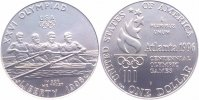 USA 1 Dollar Silber 1996 D Stempelglanz BU, sehr selten!!! Olympiade Atl... 179,00 EUR 