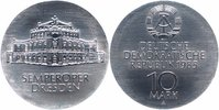 DDR 10 Mark 1985 Stempelglanz Semperoper Dresden 46,00 EUR 