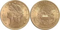 20 Dollars GOLD 1900 U.S.A. Double Eagle fast prägefrisch  1599,00 EUR  +  16,00 EUR shipping