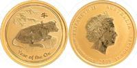 15 Dollars GOLD 2009 Australien 1/10 Unze 9999 Feingold, Jahr des Ochse... 189,00 EUR  +  10,00 EUR shipping