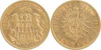 10 Mark GOLD 1878 J Hamburg  sehr schön  259,00 EUR  +  10,00 EUR shipping