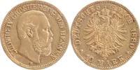10 Mark 1880 H Hessen Ludwig IV. 1877-1892 sehr schön - fast vorzüglich  569,00 EUR  +  16,00 EUR shipping
