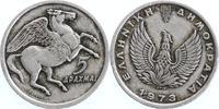 5 Drachmai 1973 Griechenland 3. Republik seit 1973 sehr schön  2,00 EUR  +  6,00 EUR shipping
