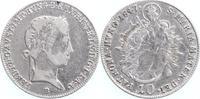 10 Kreuzer 1847 B RDR Habsburg Ferdinand I. 1835-1848 schön-sehr schön  10,00 EUR  +  6,00 EUR shipping