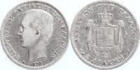 1 Drachme 1873 Griechenland Georg I. 1860-1913 sehr schön  15,00 EUR  +  6,00 EUR shipping