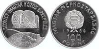 100 Forint 1980 Ungarn Raumflug / Kosmonauten PP-  8,00 EUR  +  6,00 EUR shipping