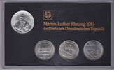 20 Mark + 3 x 5 Mark 1983 (82) DDR Themensatz Martin Luther-Ehrung Stem... 599,00 EUR  +  16,00 EUR shipping