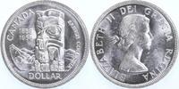 Dollar 1958 Kanada 100 Jahre British Columbia, Totempfahl stempelglanz ... 15,00 EUR  +  6,00 EUR shipping