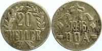 20 Heller 1916 T Deutsch - Ostafrika  sehr schön  12,00 EUR  +  6,00 EUR shipping