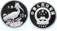 10 Yuan Silber 1988 China WWF, Ibis PP Proof in Kapsel  79,00 EUR  +  10,00 EUR shipping