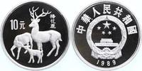 10 Yuan Silber 1989 China WWF, Hirsche PP Proof in Kapsel  45,00 EUR  +  10,00 EUR shipping