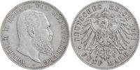 5 Mark 1901 F Württemberg Wilhelm 1891-1918 sehr schön  30,00 EUR  +  6,00 EUR shipping