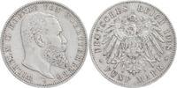 5 Mark 1908 F Württemberg Wilhelm 1891-1918 sehr schön+  30,00 EUR  +  6,00 EUR shipping