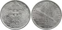 20 Escudos Silber 1966 Porugal Eröffnung der Salazar-Brücke vorzüglich-... 5,00 EUR  +  6,00 EUR shipping
