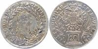 RDR Habsburg 20 Kreuzer 1756 FR fast vorz&uuml;glich Franz I. 1745-1765 59,00 EUR 